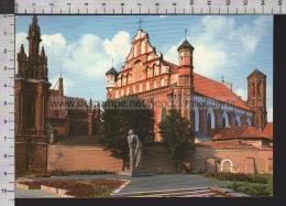 S6781 LITUANIA VILNIUS PAMINKLAS ADOMUI MICKEVICIUI MONUMENT TI ADAM MICKIEWICZ Lietuva VG - Lituania