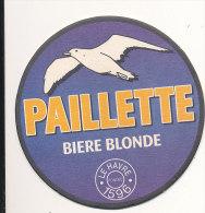 5 - SOUS BOCK BIERE PAILLETTE  LE HAVRE 1596 - Sous-bocks