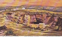 PAL4   --  GROTTO OF JEREMIAH, JERUSALEM - Palästina