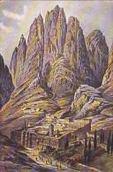 PAL2   --  ST. CATHERINE `S   CLOSTER BY MOUNT SINAI  --  1908 - Palästina