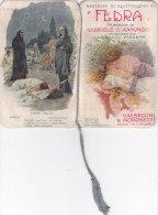 "CALENDARIETTO  ""FEDRA "" TRAGEDIA DI D'ANNUNZIO G. MUSICA I. PIZZETTI  VALSECCHI& MOROSETTI MILANO  1919-2-0882-17463-462 - Petit Format : 1901-20"
