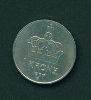 NORWAY - 1977 1k Circ. - Noorwegen