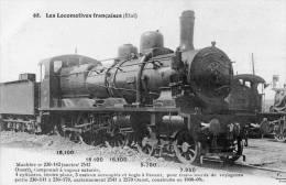 58*      68 - Les Locomotives Françaises (Etat) - Trains