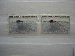 TAAF Nr 6/7 (**) - Französische Süd- Und Antarktisgebiete (TAAF)