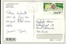 Espana Machine 1999 Benidorm >> Belgique / Real Club De Tenis Barcelona / Tennis - 1931-Aujourd'hui: II. République - ....Juan Carlos I
