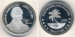KEELING COCOS 10 DOLARES 2003 - Altri – Oceania