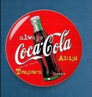 COCA-COLA (Always -Altijd - Toujours) - Autocollant - Coca-Cola