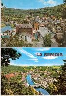 La Semois-Carnet De 10 Vues: Bouillon (2)-Botassart -Poupehan-Vresse -Alle- Bohan(2)- Membre- Frahan-Dim. 14,5x10,5 Cm - 5 - 99 Postkaarten
