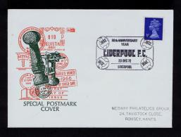 UK England Sports Football Soccer LIVERPOOL Clubs 80th Anniv 1892-1972 Sp2584 - Clubs Mythiques