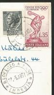 S. LORENZO AL MARE Panorama Liguria Imperia 1961 - Imperia