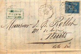Lot Juillet 2:sage Sur Lettre - Poststempel (Briefe)