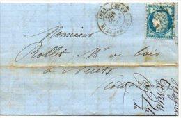 Lot Juillet 2:25 C Ceres Sur Lettre - 1849-1876: Klassik