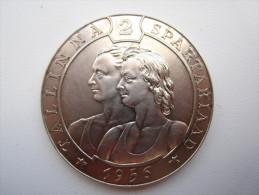 ESTONIA RUSSIA TALLINN SPORT MEDAL 1956 - Estonie