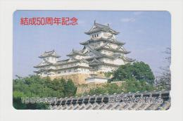 Telephon Card  Japan - Japon : Osaka Castle - Japan