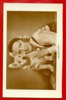 BRIGITTE HELM DOG SPITZ # 5770/1 VINTAGE PHOTO PC. W650 - Schauspieler