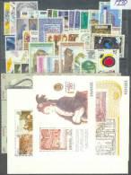 ESPAÑA 1990 - Edifil #3047/98 (Año Completo) - MNH ** - España