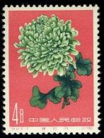 1961 Chrysanthemum,Chrysanthem En,Chrysanthèmes,China,Ch Ine,Cina,Mi.584,MNH - 1949 - ... Repubblica Popolare
