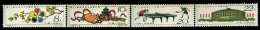 1961 PEKING-Table Tennis Championships,China,Chine ,Cina,Mi.591-594,MNH - Nuovi