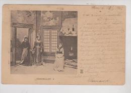 CPA FANTAISIE, CENDRILLON 1 En 1902!! - Other