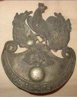 Plaque De Shako Garde Nationale Louis Philippe - Militaria