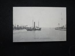 Honfleur : Sortie Du  Bâteau Du Havre. - Honfleur