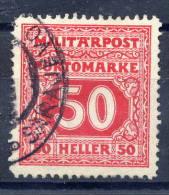BOSNIA & HERZEGOVINA 1916 Postage Due 50h Used.  Michel 24 - Bosnia And Herzegovina