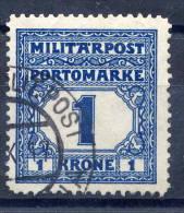 BOSNIA & HERZEGOVINA 1916 Postage Due 1 Kr. Used.  Michel 25 - Bosnia And Herzegovina