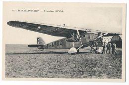ISTRES-AVIATION (Bouches Du Rhône) - Avion Trimoteur S.P.C.A - N°445 - 1919-1938: Entre Guerres