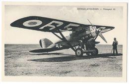 """ISTRES-AVIATION (Bouches Du Rhône) - Avion  """"Nieuport 62"""" - 1919-1938: Entre Guerres"""