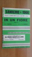 *SPARTITO - SANREMO1966 - WILMA GOICH - JON FOSTER - - Spartiti