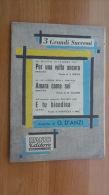 *SPARTITO - SANREMO1957 - 3 GRANDI SUCCESSI - - Spartiti