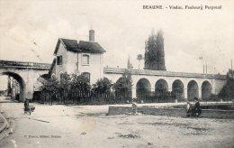 CPA BEAUNE Viaduc Du Fbg Perpreuil - Beaune