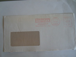 Germany Allemagne Brief Lettre Letter EMA 1981 Blendax Zähneputzen Ist Gesundheits-Vorsorge Mainz Dentifrice - [7] West-Duitsland