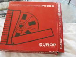 BOBINE POSSO AVEC BOITE ARCHIVE 180 M S8 - Film Projectors