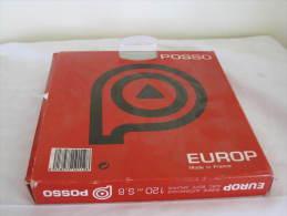 BOBINE POSSO AVEC BOITE ARCHIVE 120 M S8 - Film Projectors