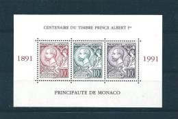Monaco Bloc N°53 De 1991 Neuf ** Vendu A La Faciale - Bloques