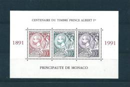 Monaco Bloc N°53 De 1991 Neuf ** Vendu A La Faciale - Blocks & Sheetlets