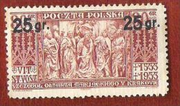 Pologne - 1934 - YT N°371 - 1919-1939 Republic