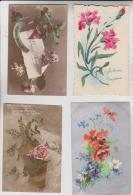 36 CPA FLEURS BONNE ANNEE - Postcards