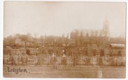 Ledegem: Friedhof.(fotokaart) - Ledegem