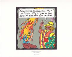 Extrait De Tintin Le Temple Du Soleil - Planche 23 Strip 3 - Tintin Rêvant+Sorcier Inca - Hergé-Moulinsart 2010 - Books, Magazines, Comics