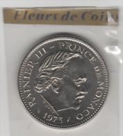 Superbe Piéce De 5 Frs 1975 De Monaco FDC..14.000 Exemplaires - Monaco
