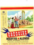 - Biscottes GREGOIRE - Le Théatre Antique D'Arles - 569 - Biscottes