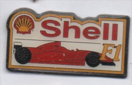 Auto Ferrari , F1 , Carburant Essence Shell - Ferrari