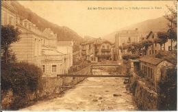 CPA  AX LES THERMES, L´Ariège Devant Le Teich   8352 - Ax Les Thermes
