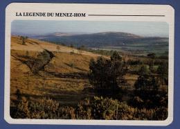 29 PLOMODIERN Légende Du Menez-Hom, La Tombe Du Roi Marc'h Au Sommet Du Menez-Hom - Toilée - Plomodiern