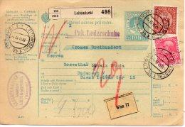 AUTRICHE CARTE COLIS POSTAL 1916 - 1850-1918 Empire