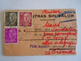 Spanje Espagne Spain Brief Lettre Letter 1970 Série Courante Timbres Franco - 1931-Aujourd'hui: II. République - ....Juan Carlos I
