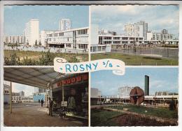 ROSNY SOUS BOIS 93 - Multivues : Divers Aspects : Immeubles Cités HLM Magasin PINGOUIN CPSM CPM GF (1967) Seine St Denis - Rosny Sous Bois