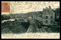 92 - SEVRES - La Ligne De Chemin De Fer - Les Coteaux De Sèvres Et Bellevue - Sevres